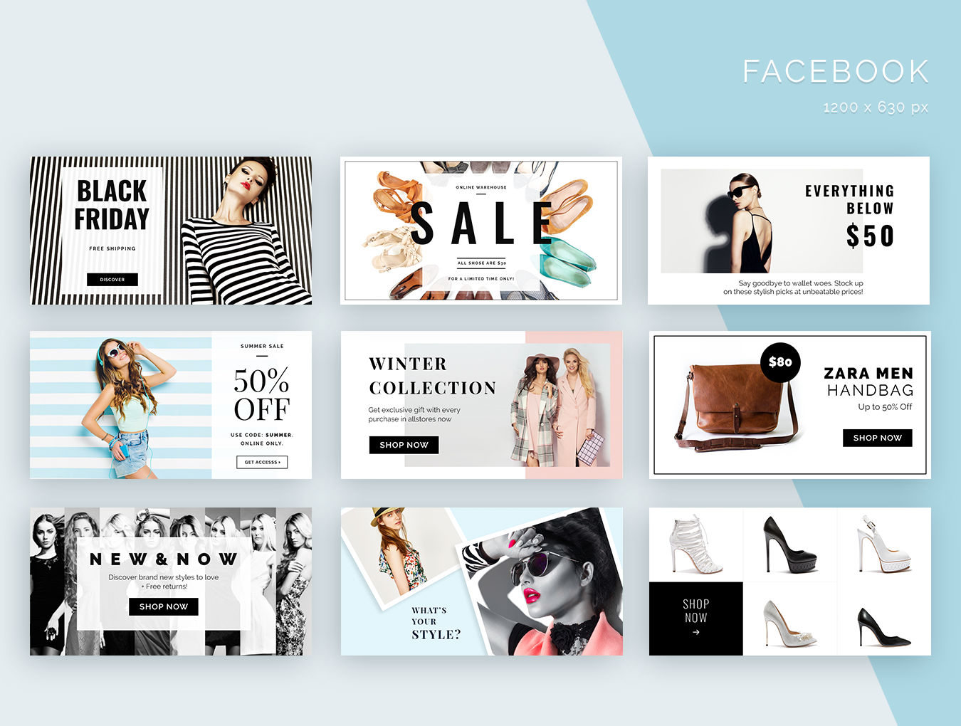 Fashion Social Media Pack example image 5