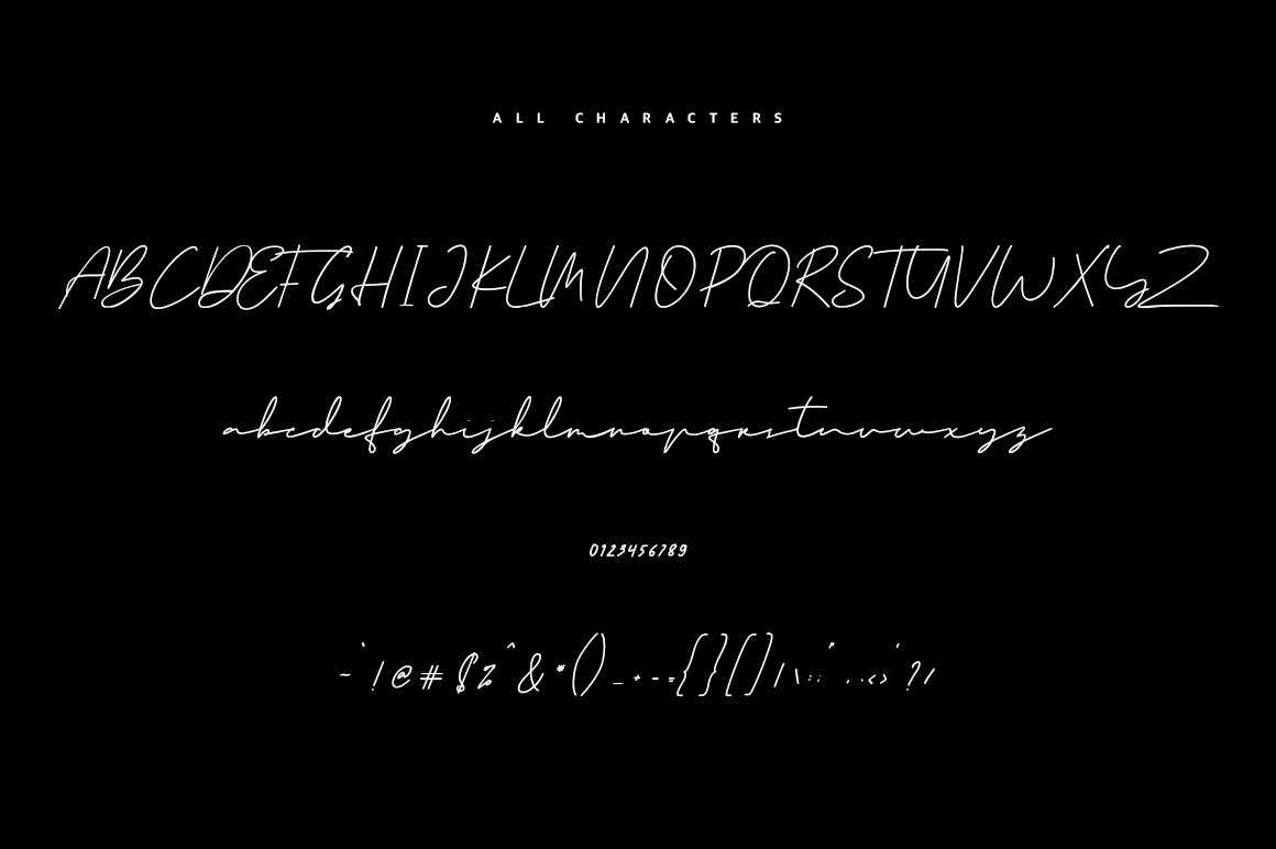 Clodia Signature Font example image 8