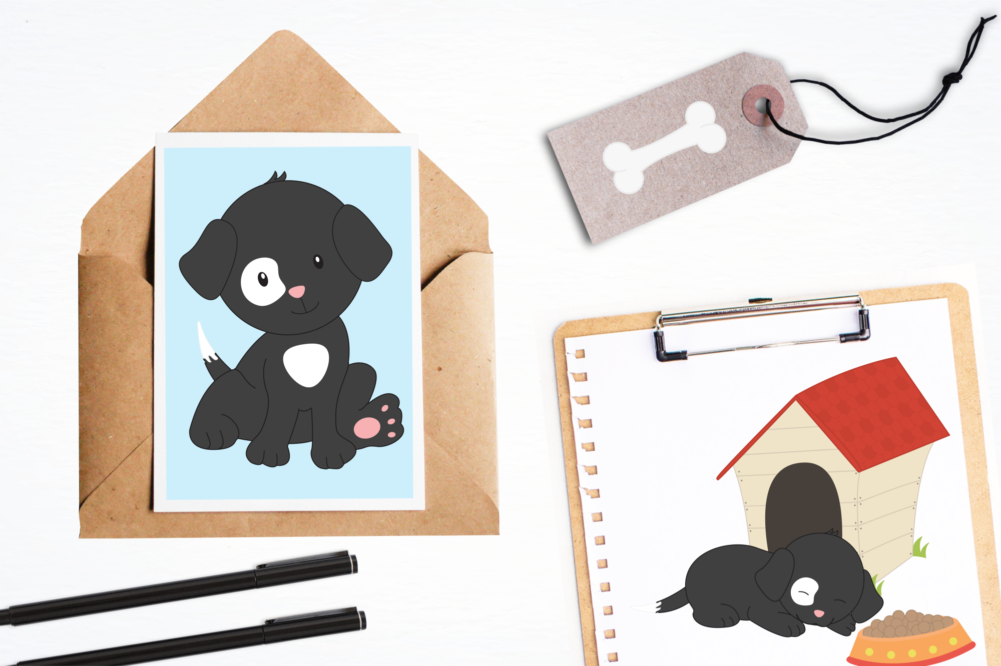 Puppy Playground graphics and illustrations example image 4