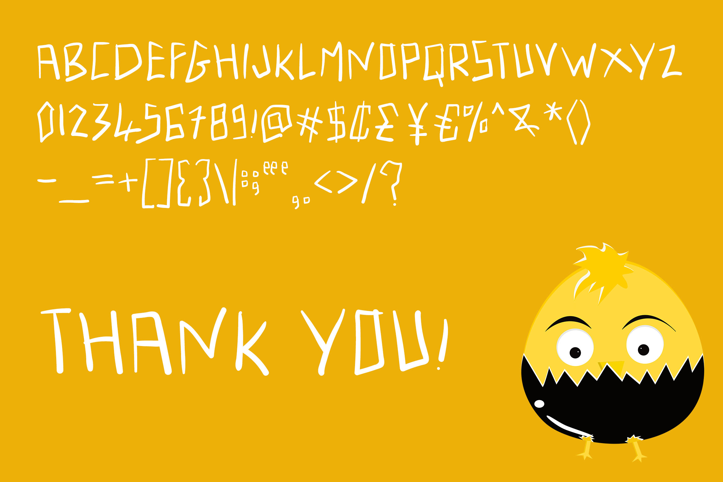 Angry Typens - Handwritten Font example image 6