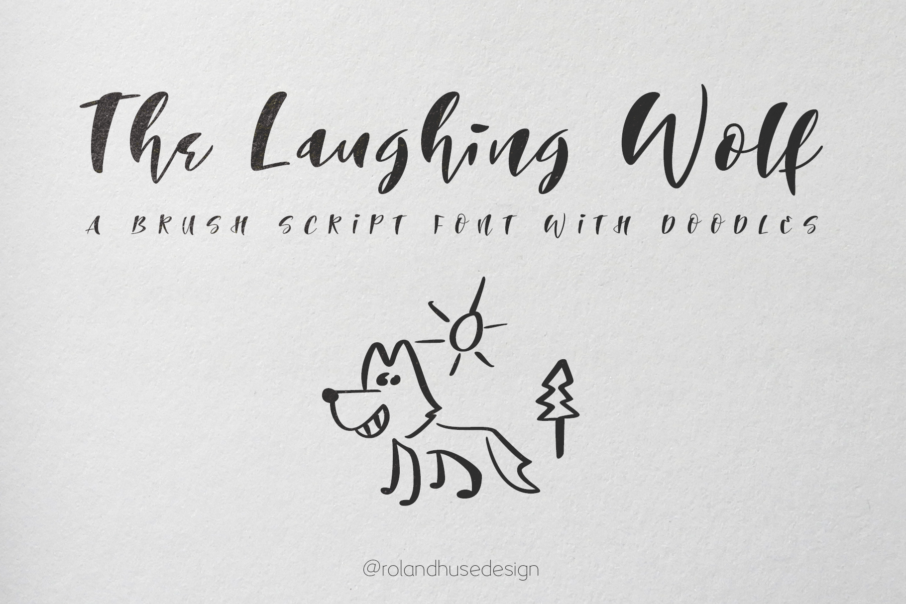 The Laughing Wolf example image 1