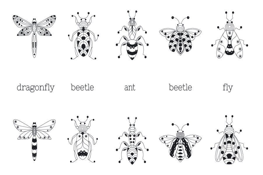 Zenart Vector Insects Collection example image 2
