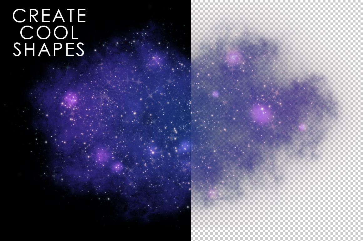 Space Photoshop Action example image 6