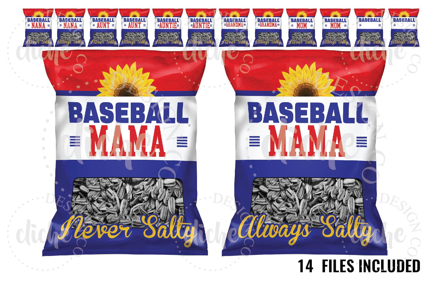 Baseball Sublimation Design Bundle example image 1