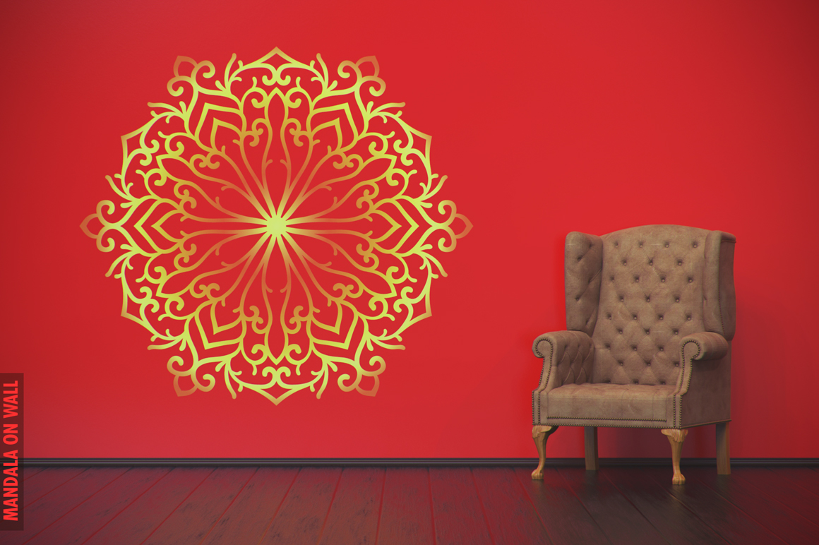 100 Christmas Mandala Ornaments example image 17
