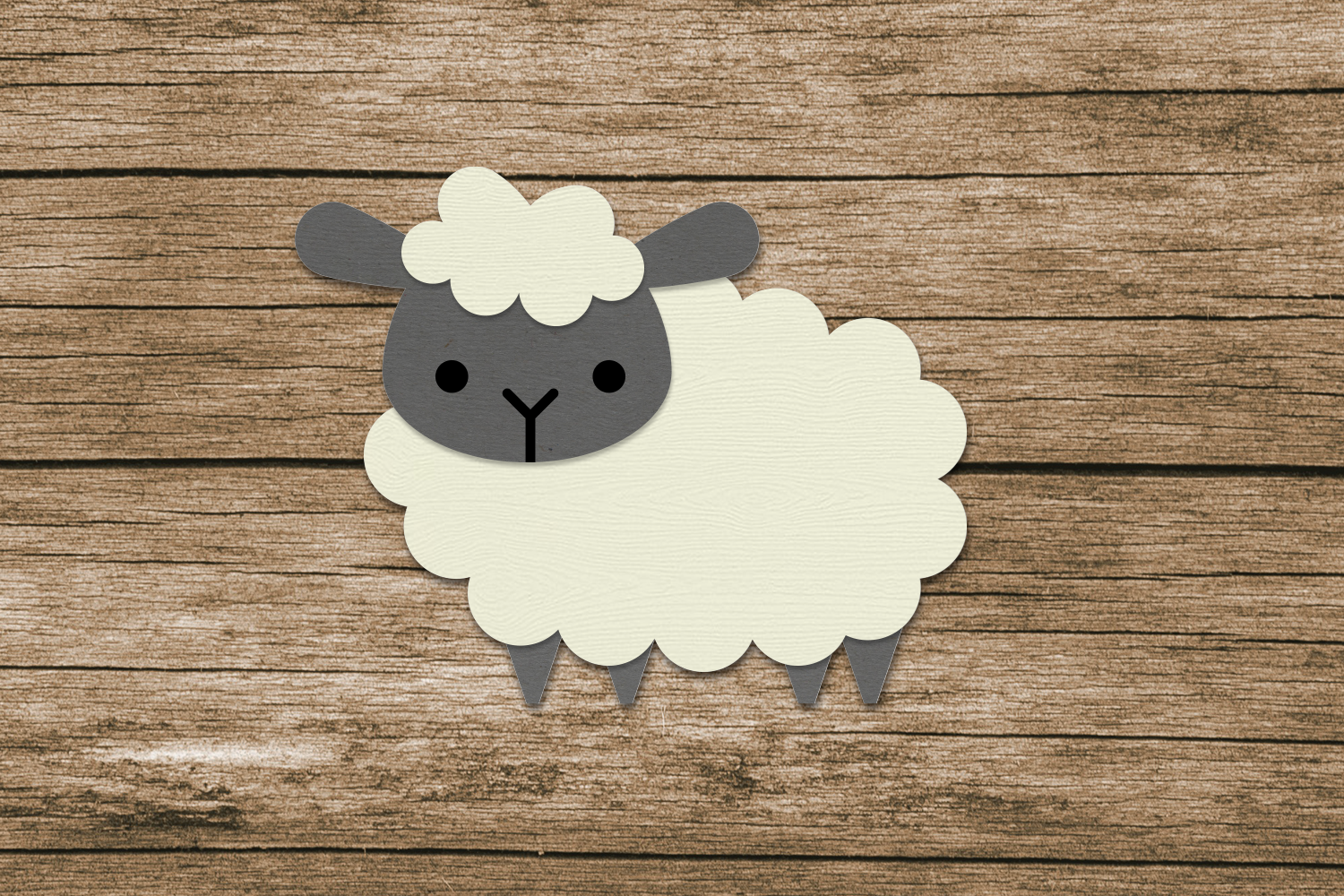 Farm Animal Party Banner SVG Design Bundle example image 5
