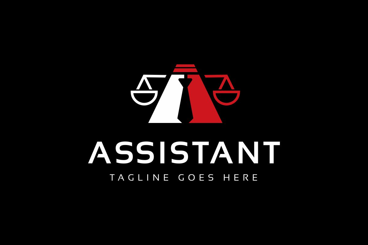 Assistant Law Logo example image 2