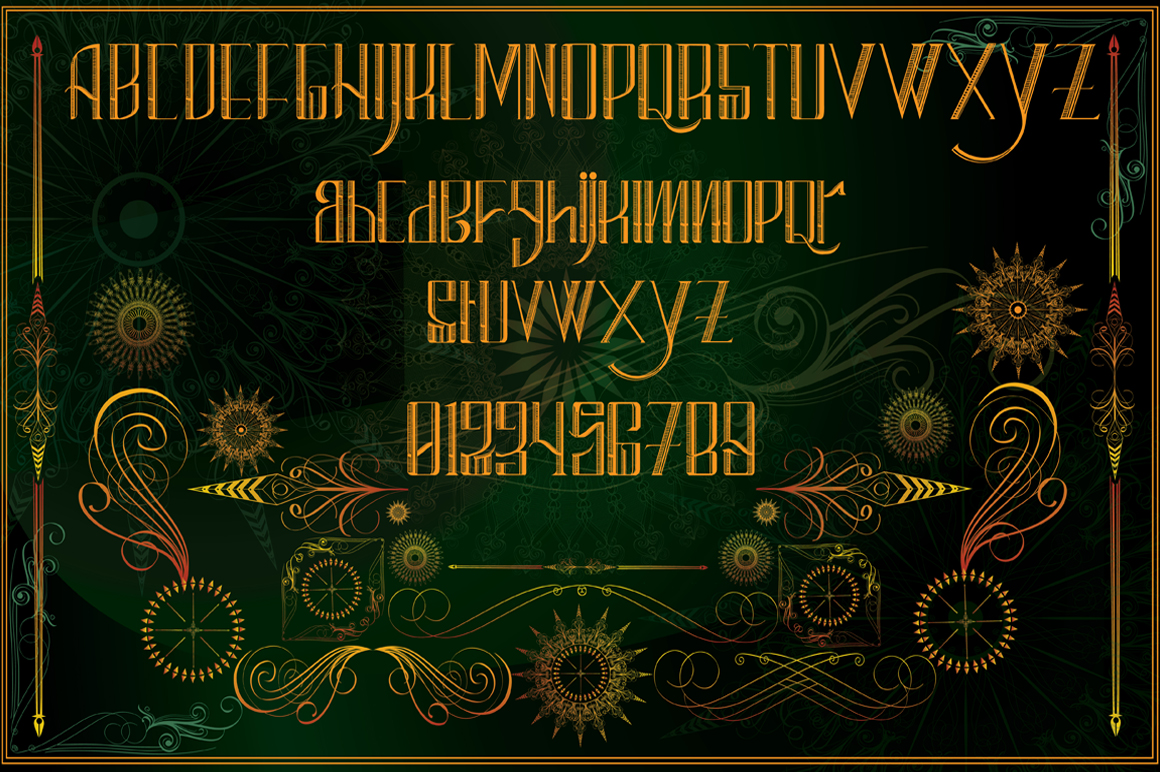 clementine typeface example image 3