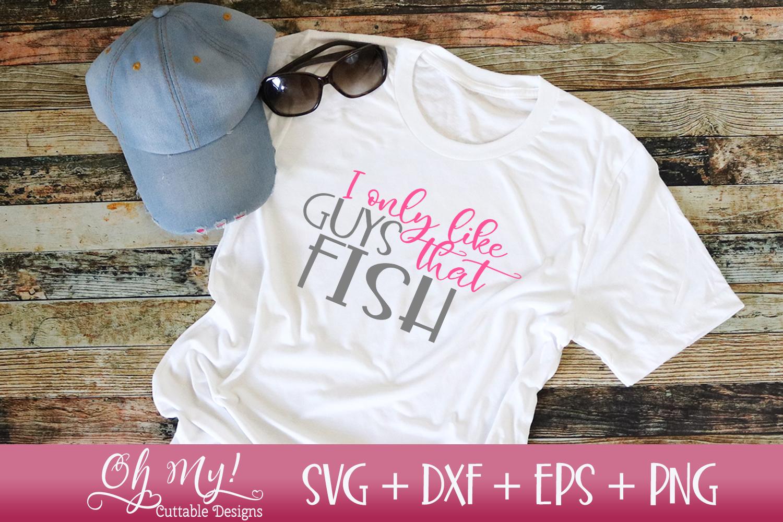 Girls Gone Fishing Bundle - 8 Files - SVG DXF EPS PNG Cuttin example image 6