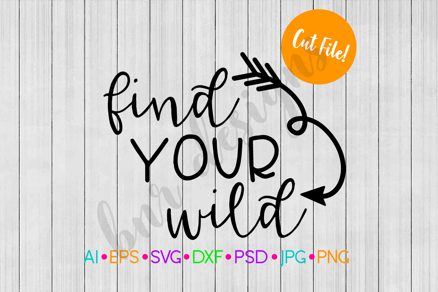 Find Your Wild SVG, Wanderlust SVG, Adventure SVG example image 1