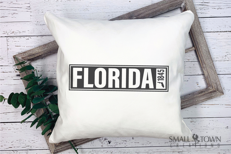 Florida, Sunshine State - slogan, logo, PRINT, CUT & DESIGN example image 7