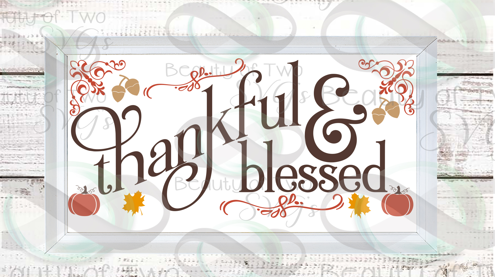 Fall svg Farmhouse Bundle Give Thanks svg, 6 Fall svg design example image 6