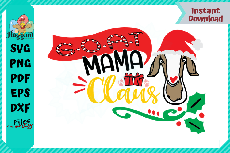 G.O.A.T Mama Claus example image 1
