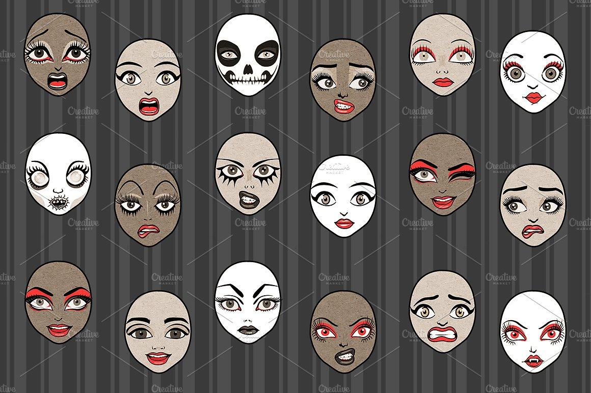 Halloween Girls Character Creator example image 4