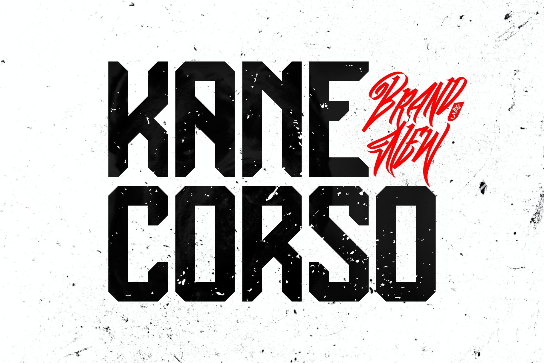 Kane Corso | Block Font example image 1