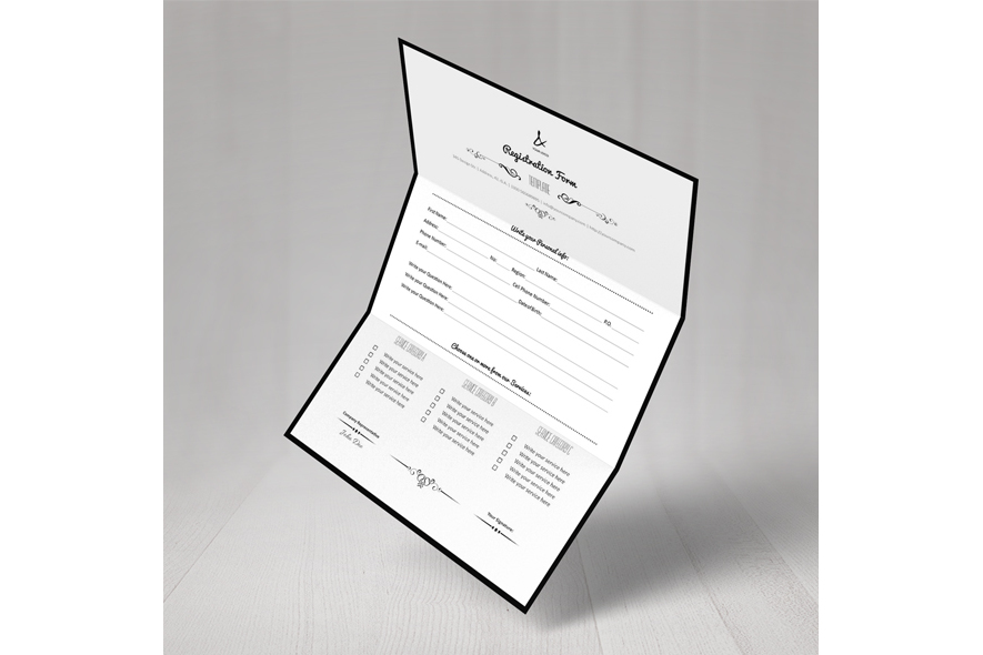 Registration Form Template v2 example image 6