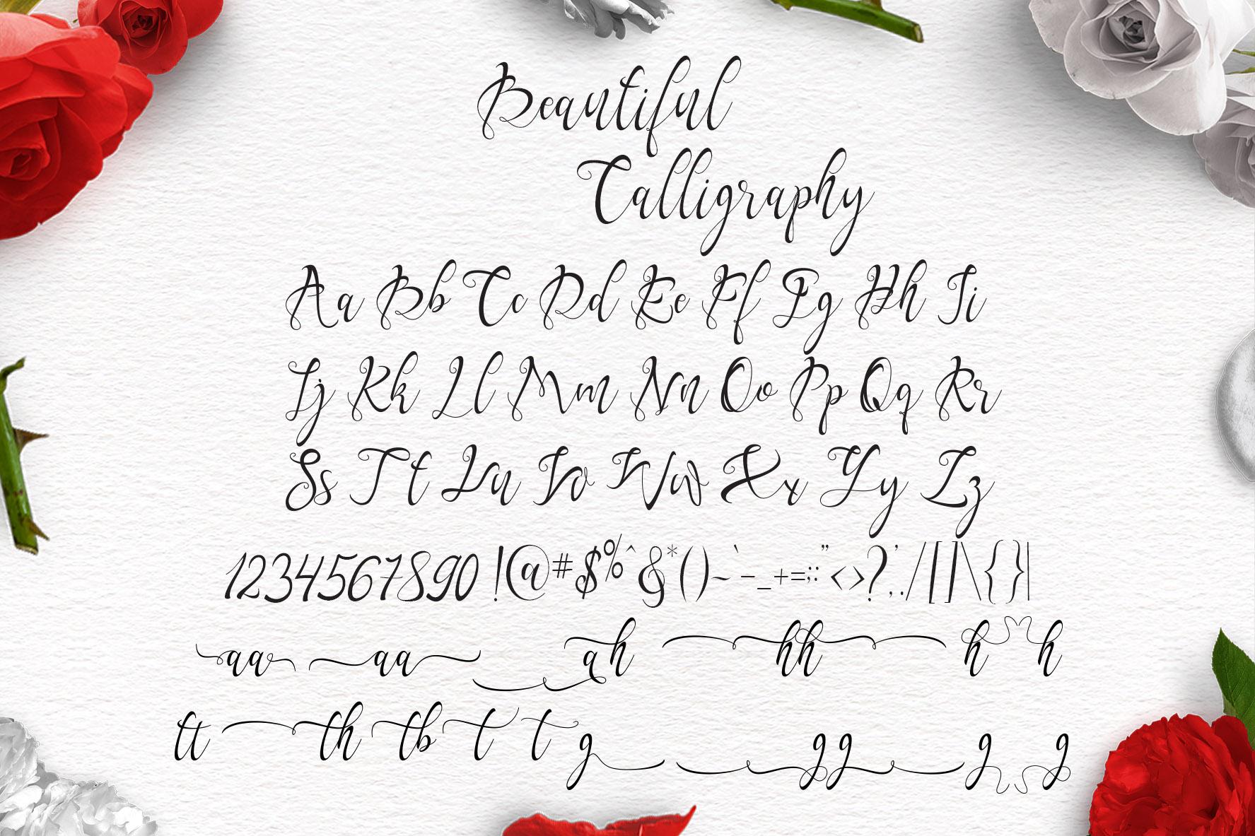 Yalanda Script example image 8
