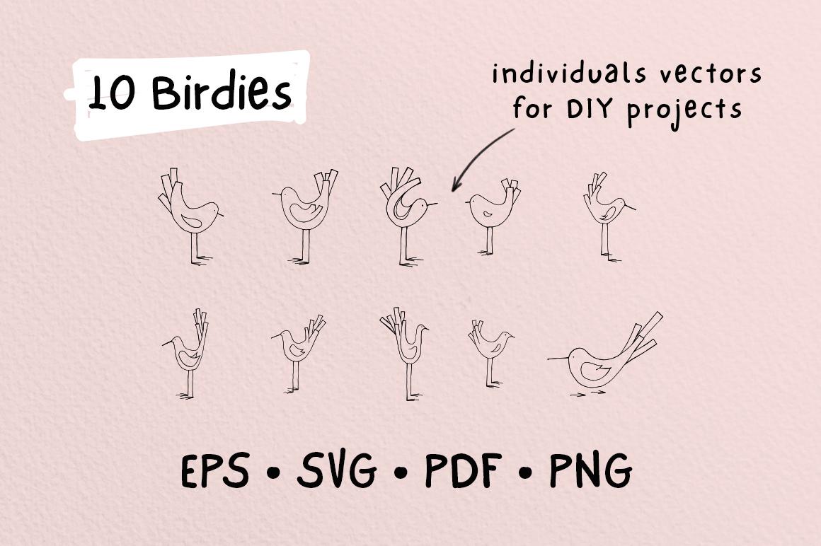 Birdies | A Tiny Design Kit example image 2