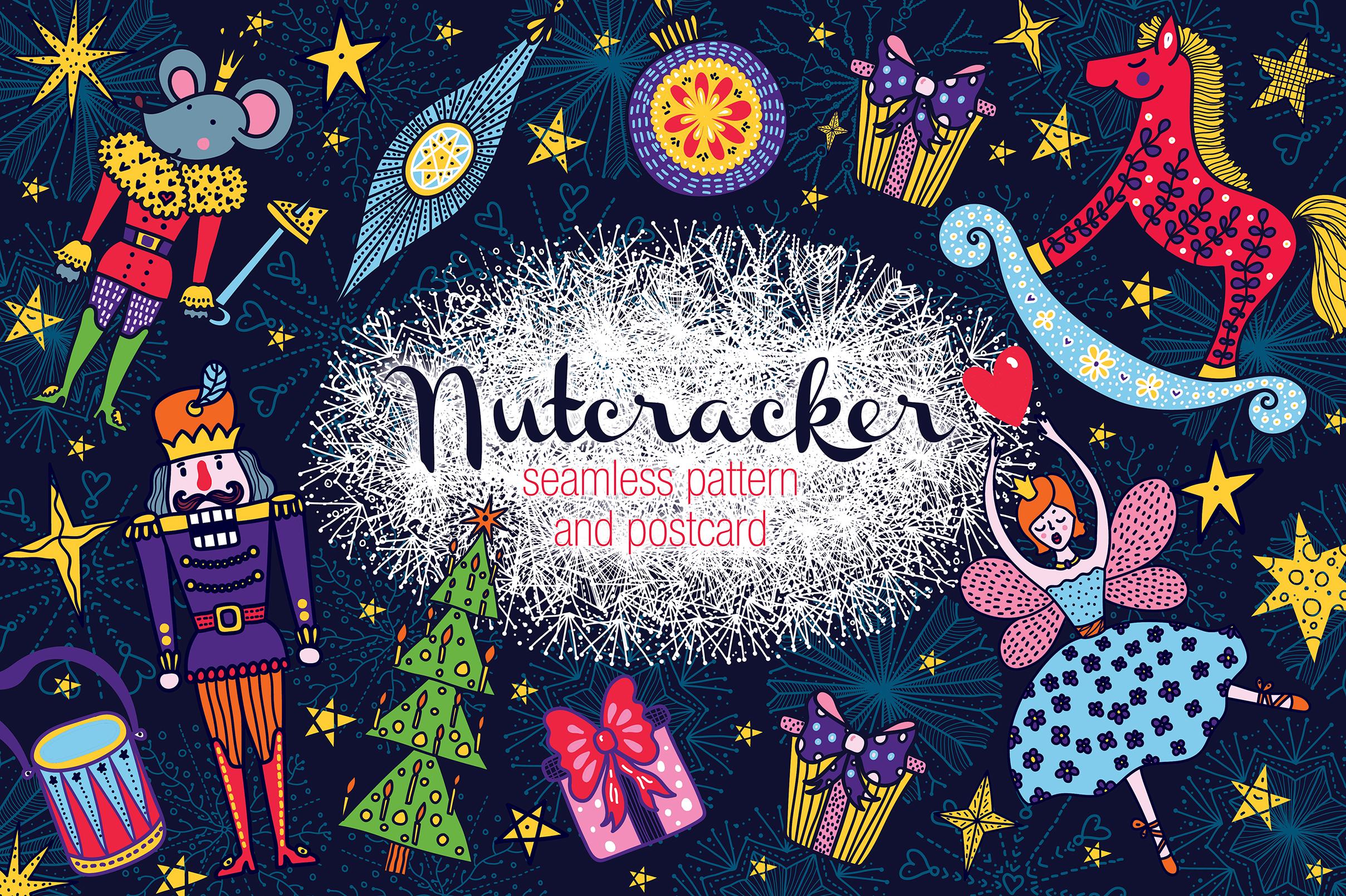 Nutcracker. Christmas story. example image 1