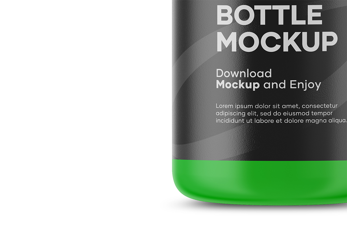 Plastic Cosmetic Bottle Mockup example image 4