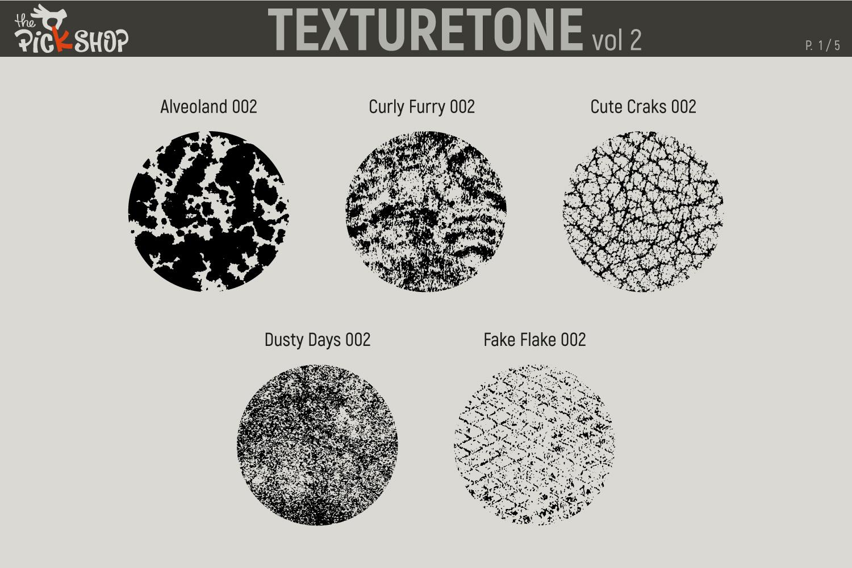 Texturetone Promo Pack. Vol 01 and Vol 02 example image 7