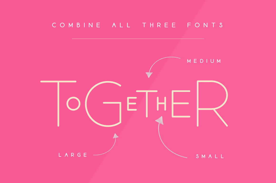 Lollapalooza Font Trio example image 2