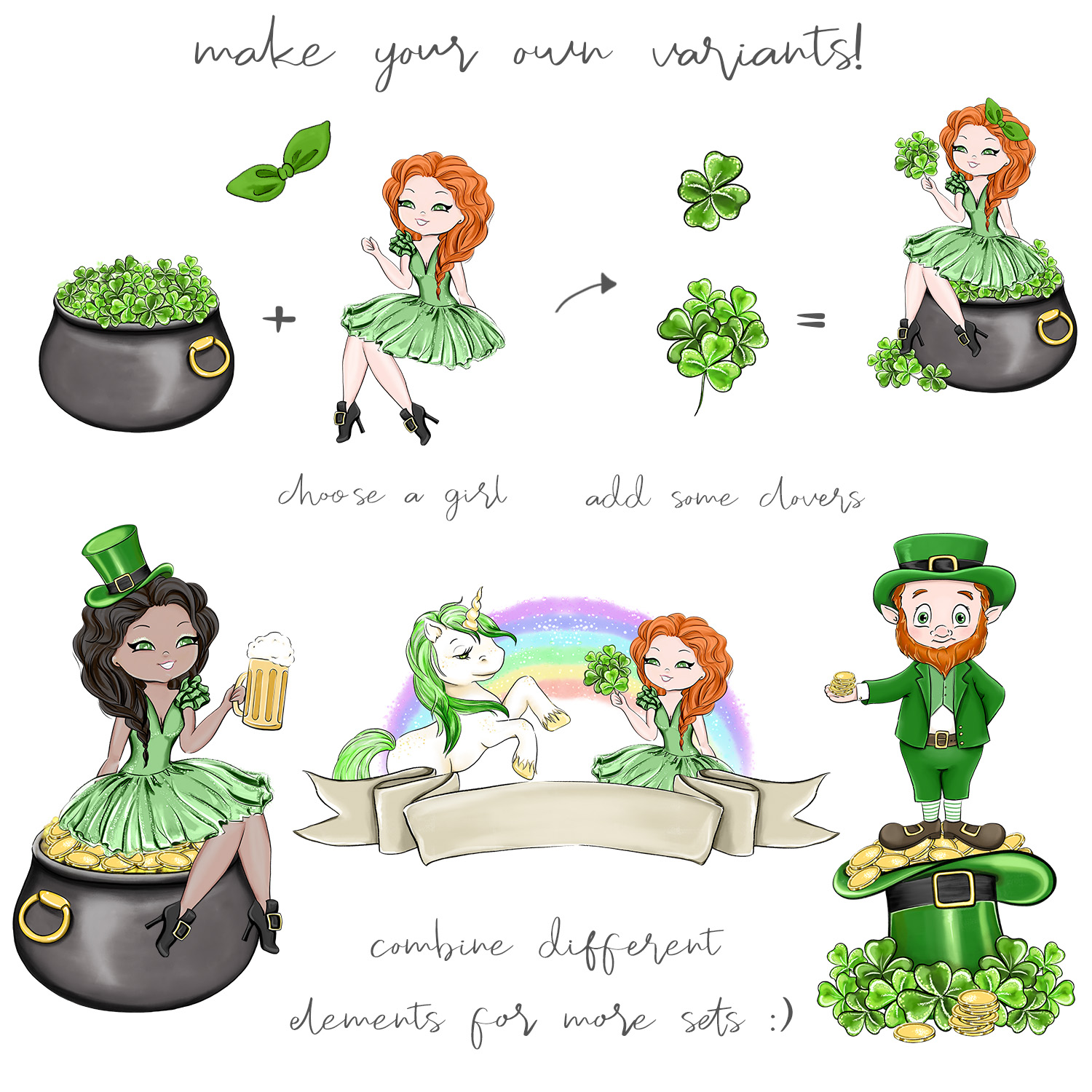 Its Your Lucky Day - Clipart example image 6