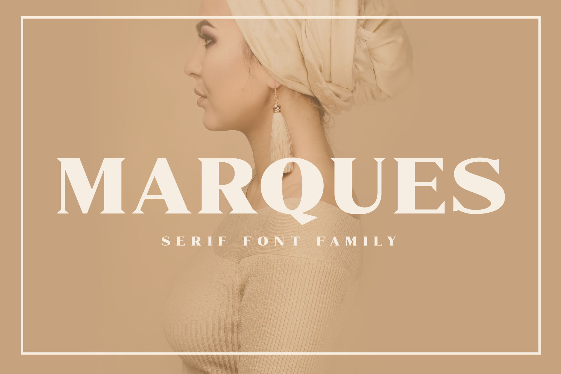 Marques - Modern Serif Font Family example image 1