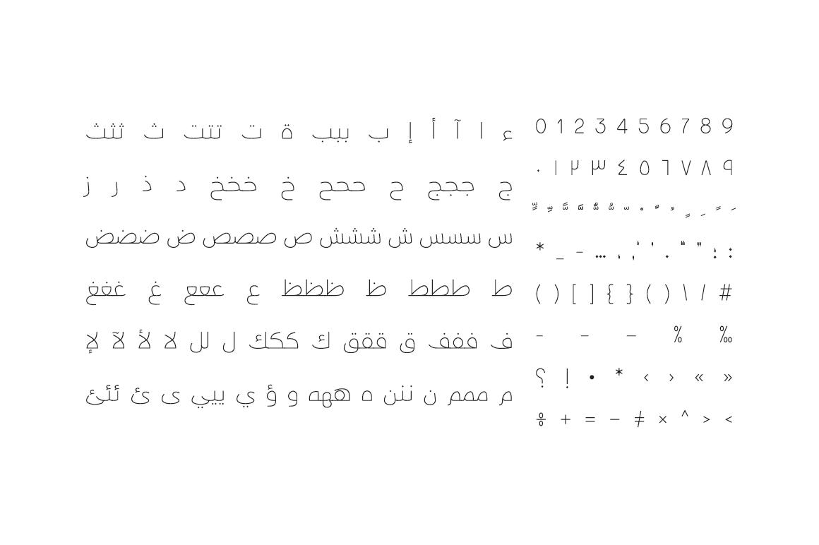 Taleeq - Arabic Typeface example image 5