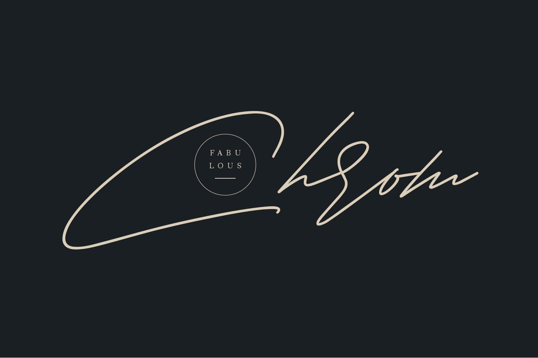 Shaloems Handwritten Signature Font example image 3
