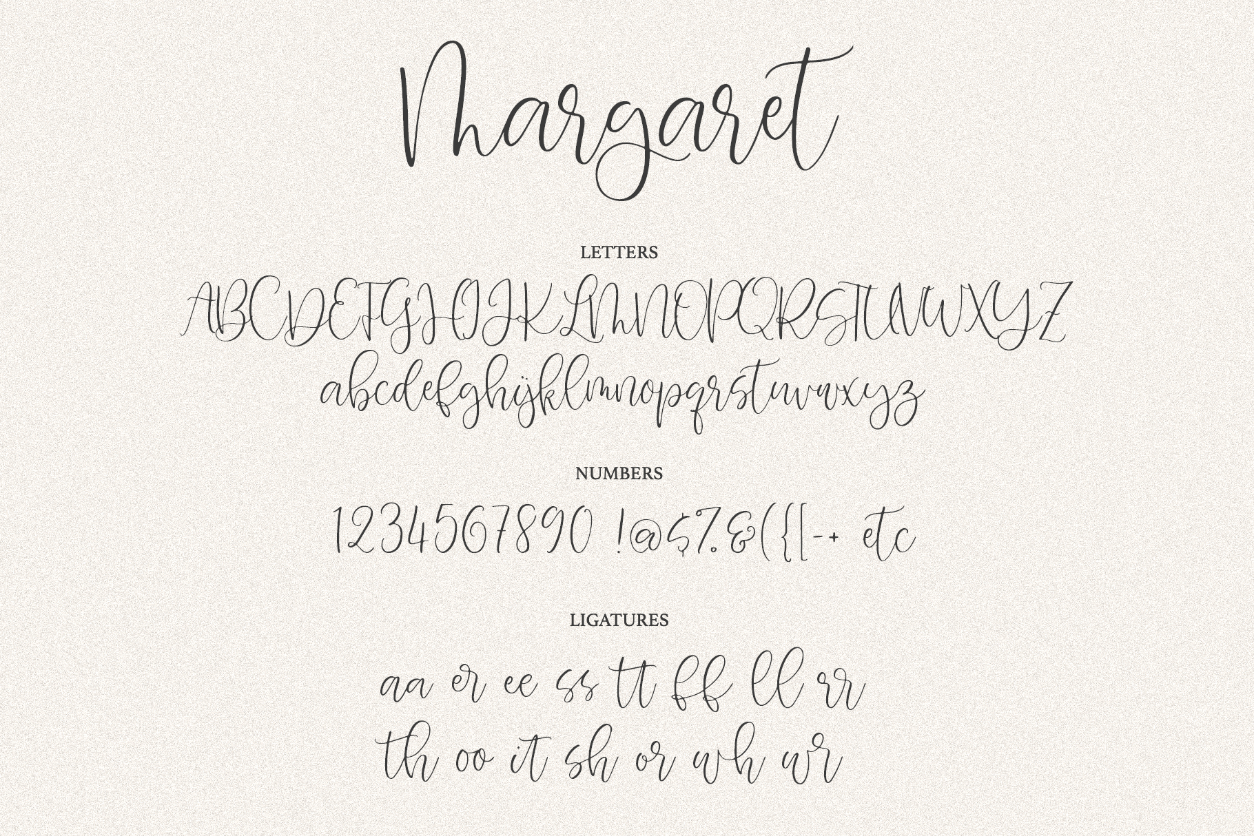 Margaret Calligraphy example image 10