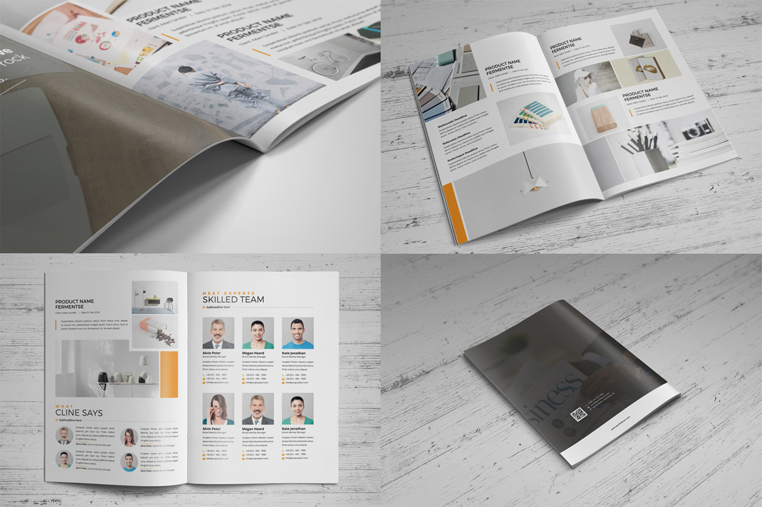 Portfolio Brochure Bundle example image 15