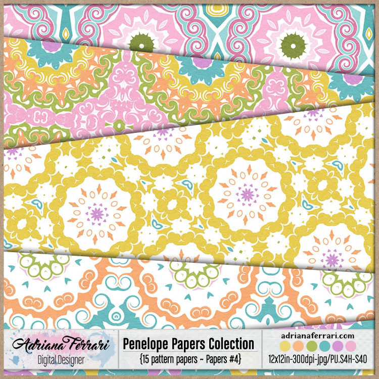 Penelope Papers Colection 4 example image 6