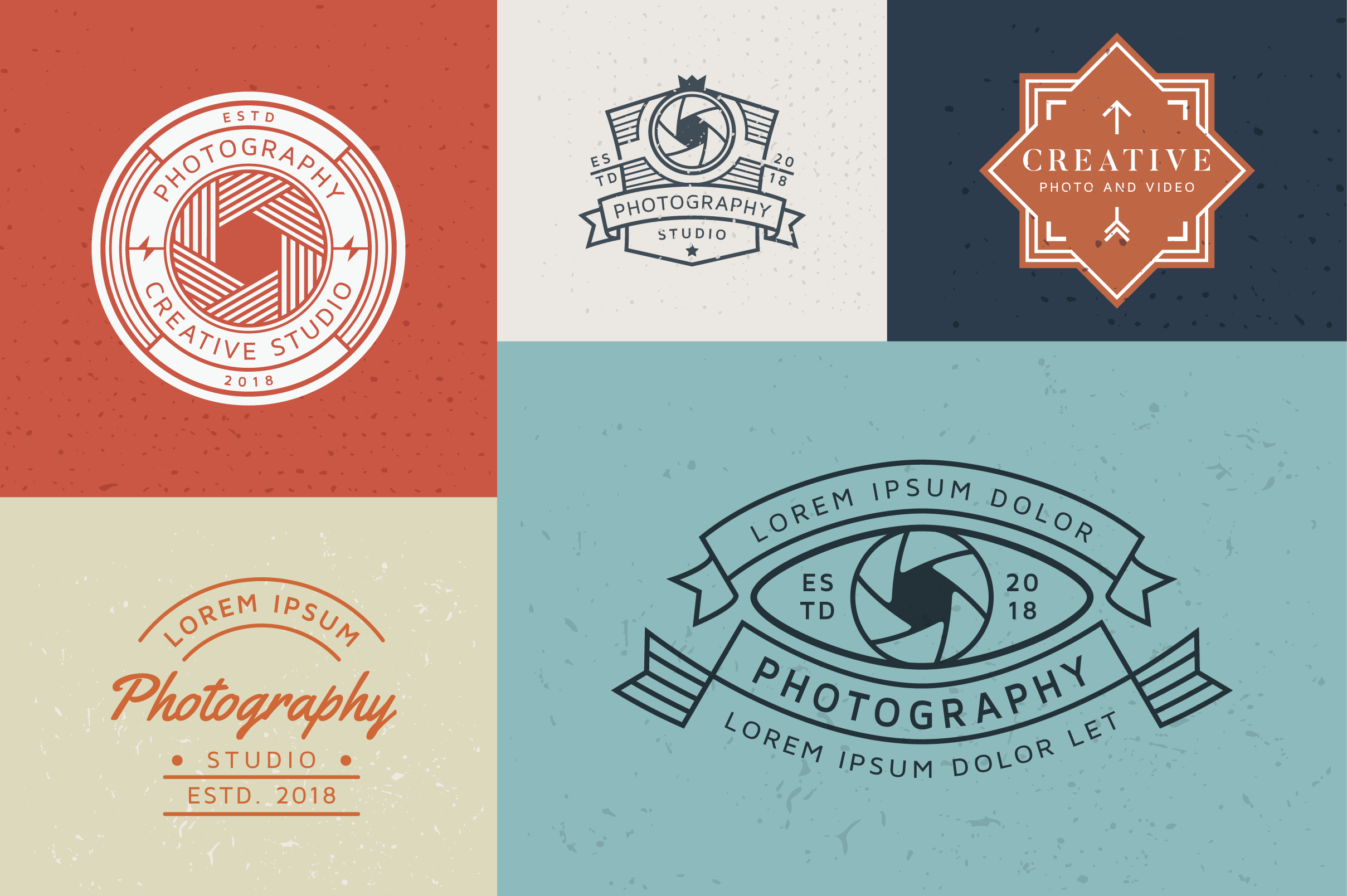 15 Premium Photography Logo example image 6