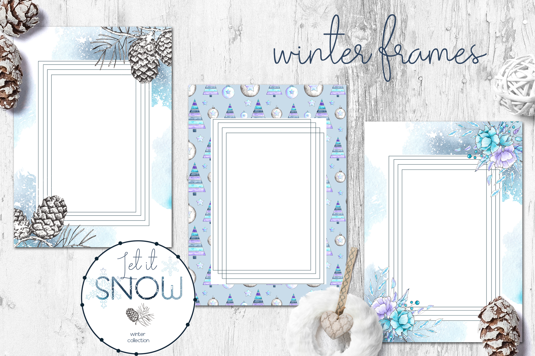 Let it snow. Winter collection example image 8