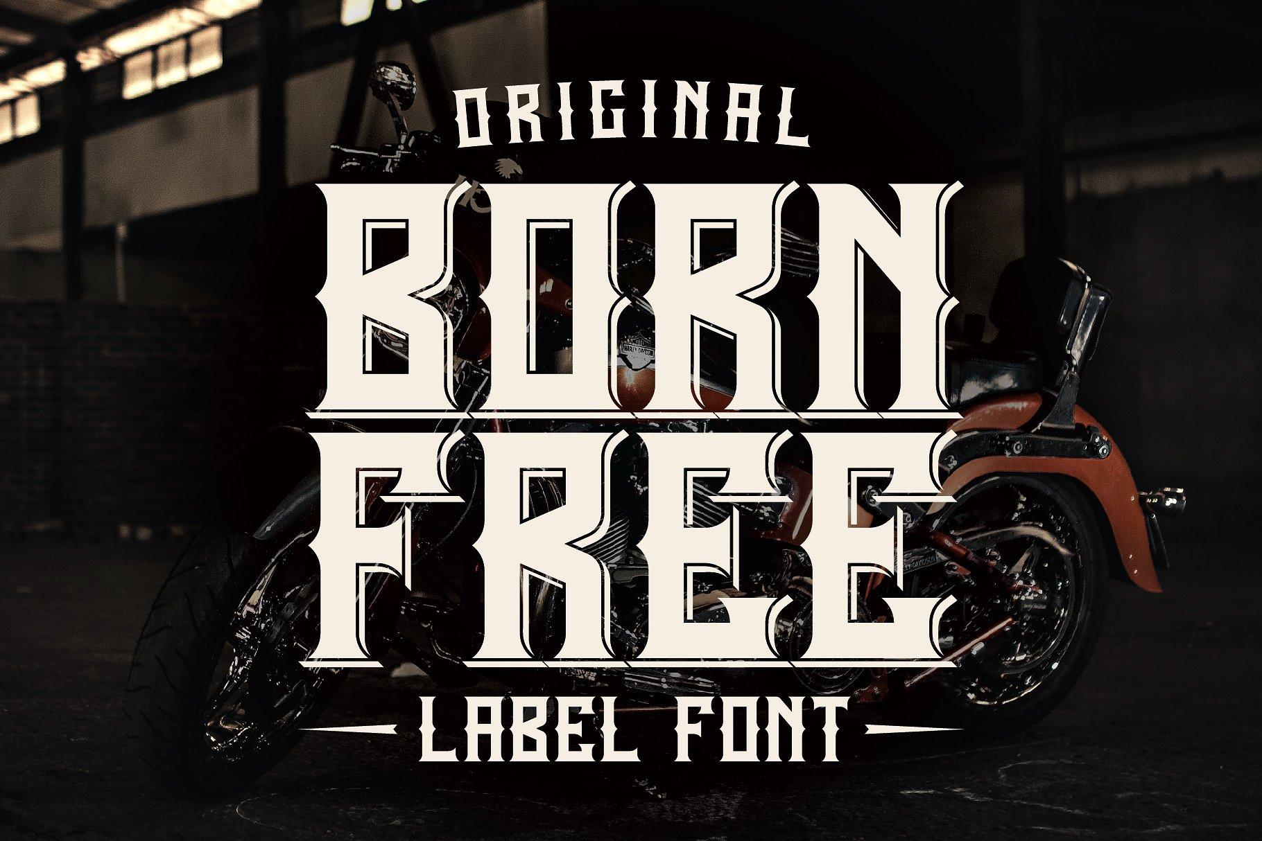 Born Free example image 1