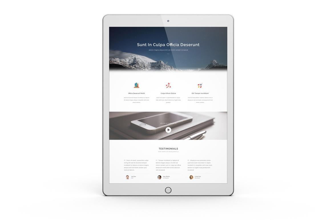 iPad Pro Mock-up vol1 example image 4