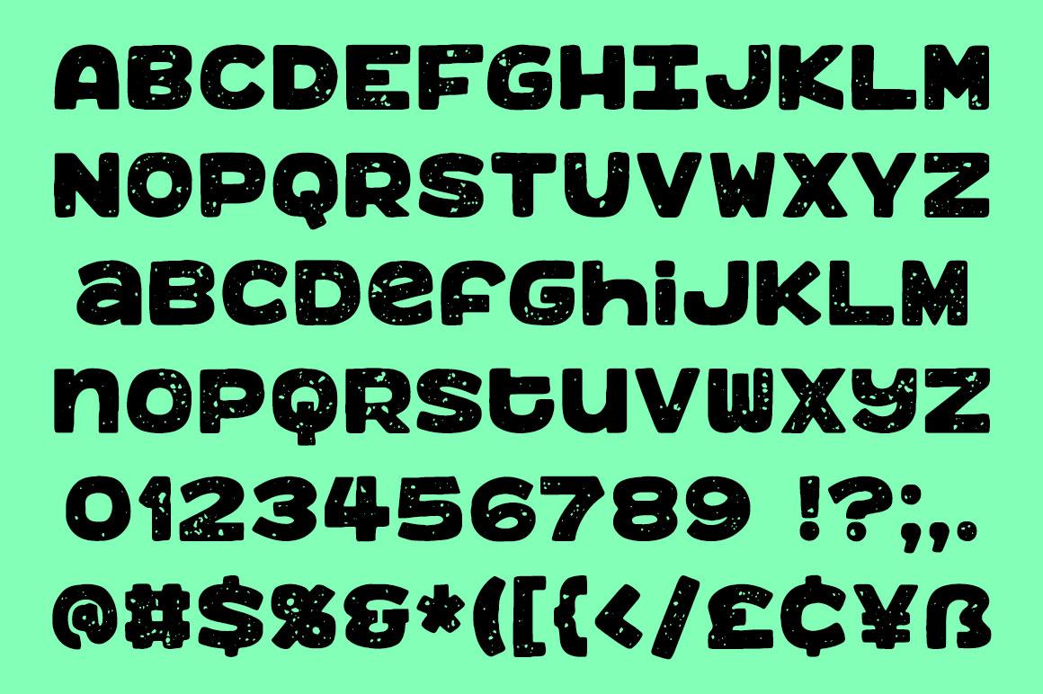 Benji - a bold, fun monospace font! example image 3