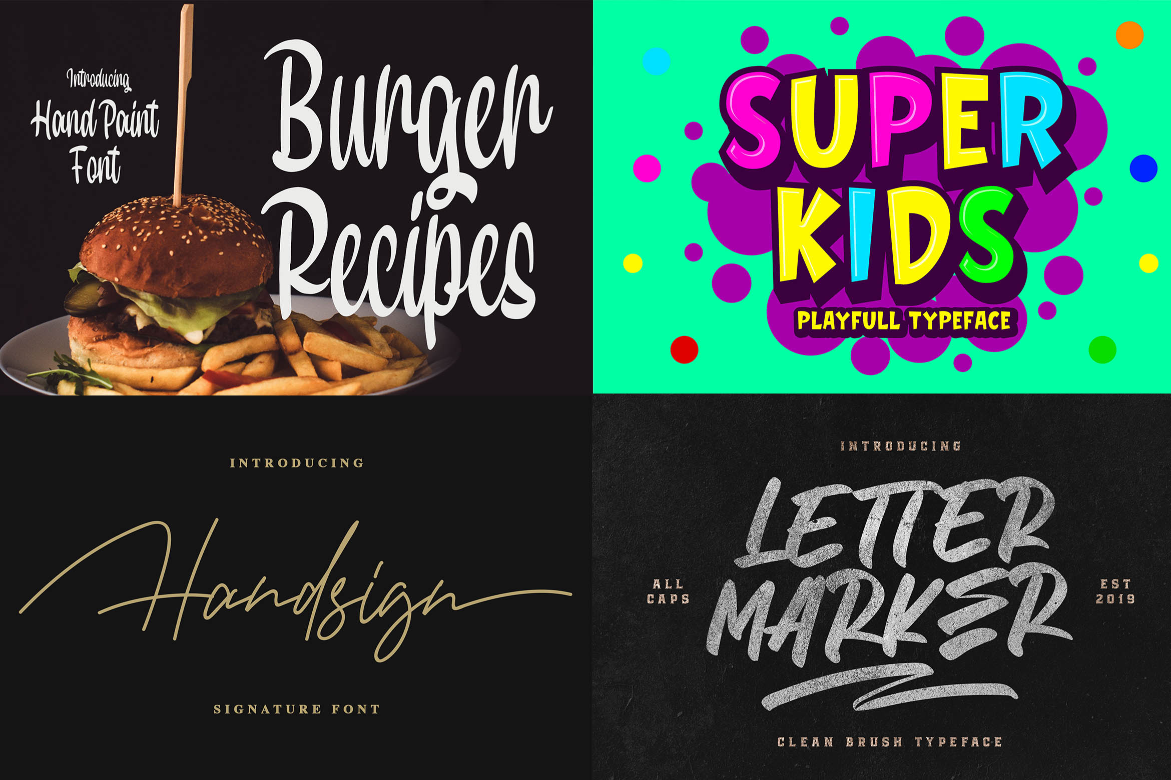 New Year Big Bundle - Crafting Fonts Collection example image 10