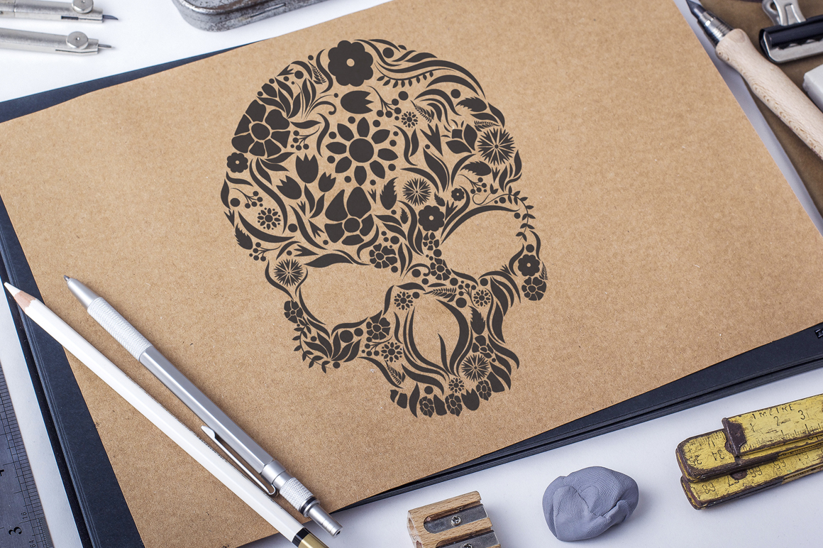 Herbs Skull example image 8