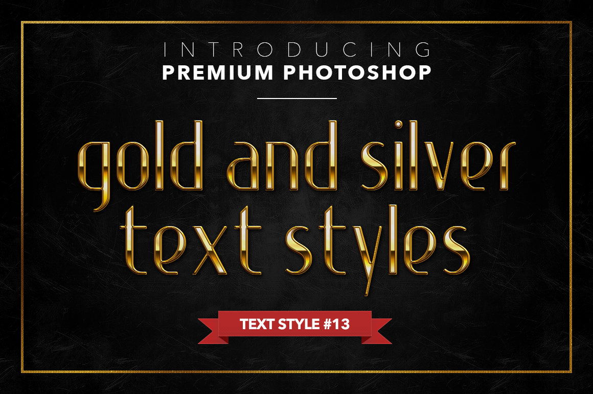 Gold & Silver #1 - 20 Text Styles example image 12