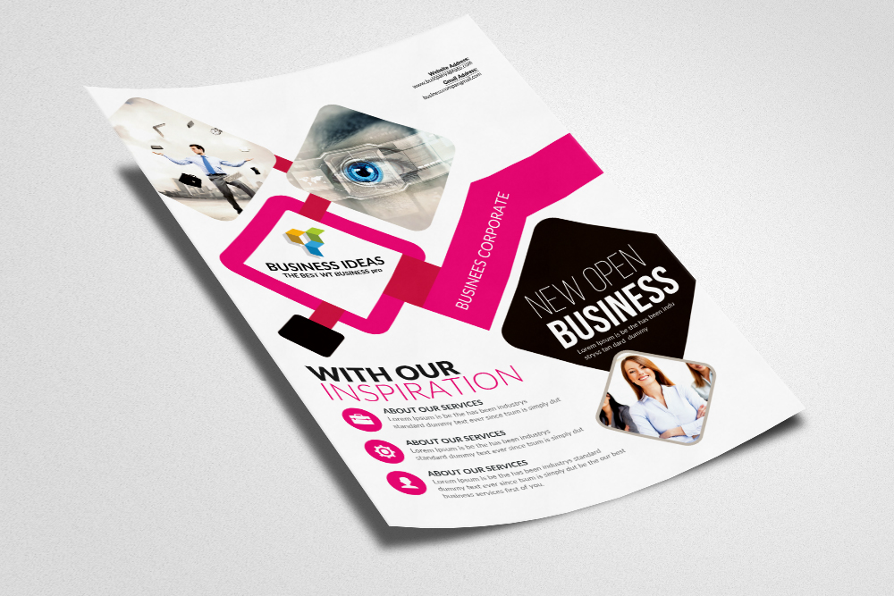 Insurance Consulting Business Flyer Ad example image 2