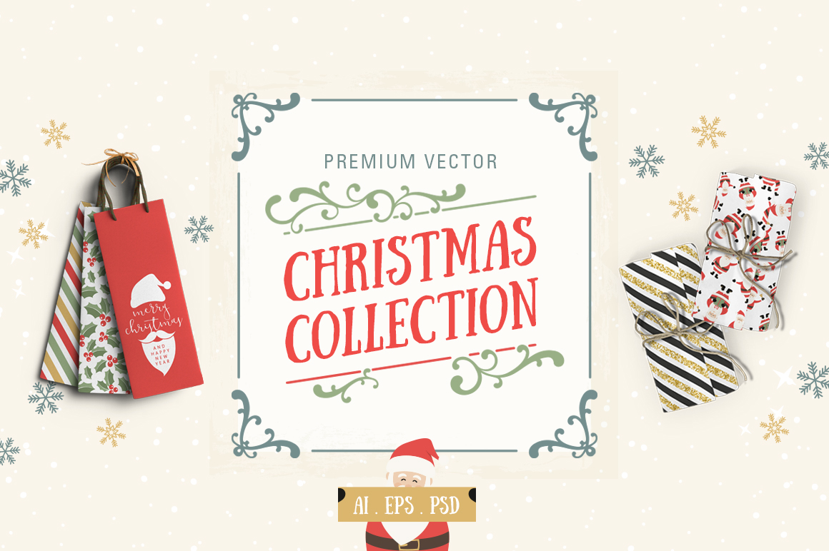 Ultimate Vector Christmas Collection example image 1
