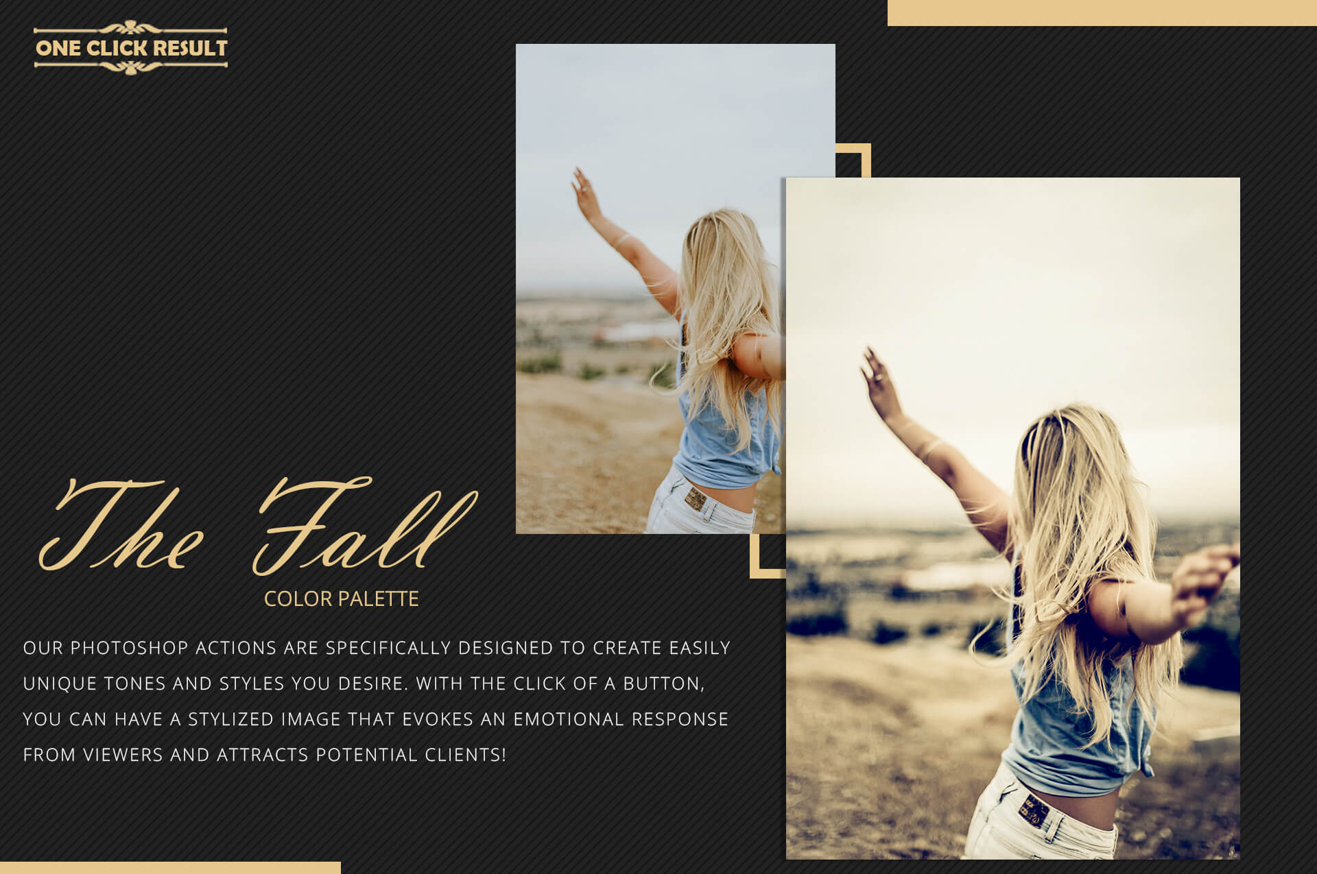 150 Fall Theme Color Grading Premium Photoshop action example image 8