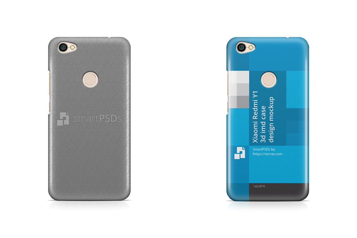 Xiaomi Redmi Y1 3d IMD Case Design Mockup 2017 example image 1