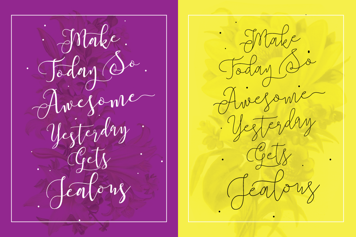 Roselline Typeface example image 2