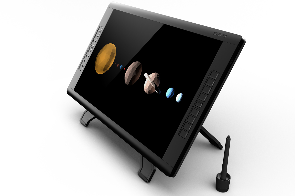 Wacom Graphic Screen Tablet Mockup example image 10