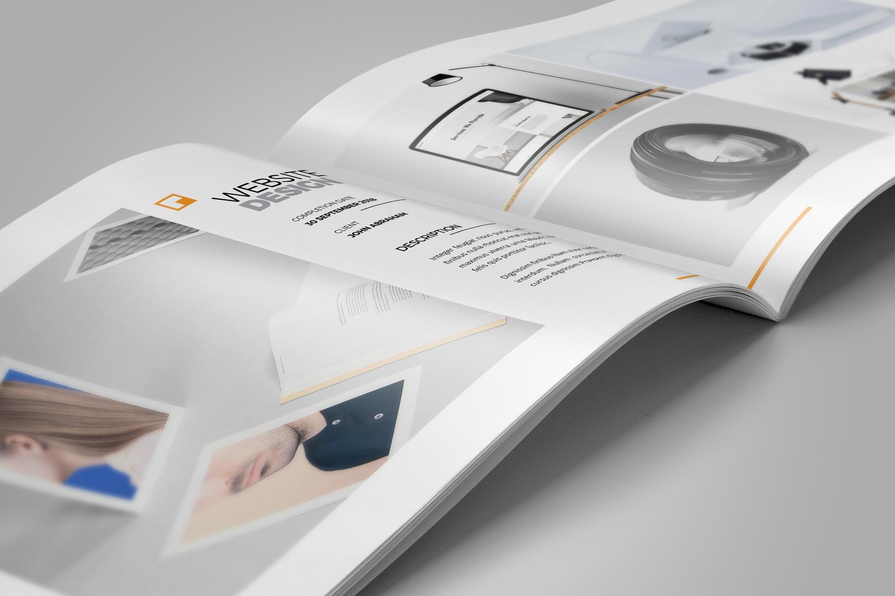 Portfolio Brochure Design v5 example image 9