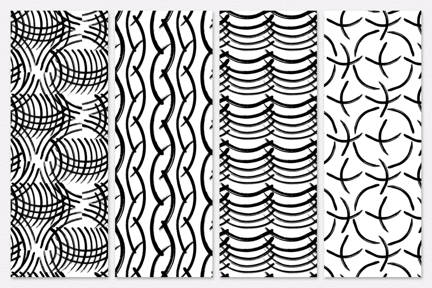 Vector - Ink - brash Watercolor png example image 6