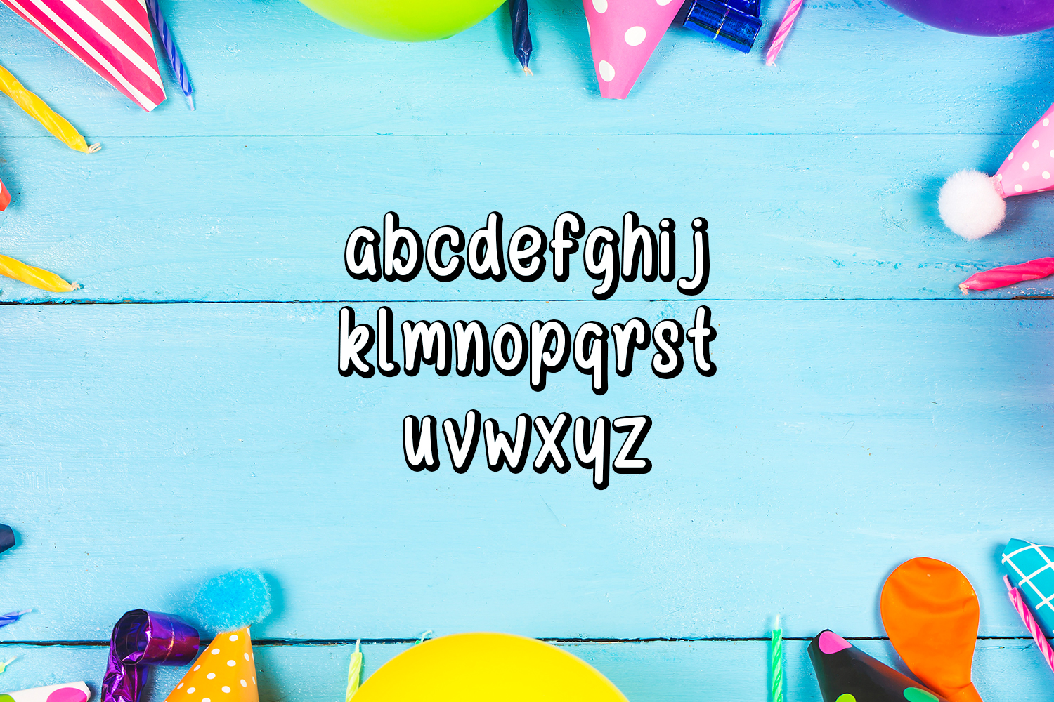 Happy Birthday Font example image 2